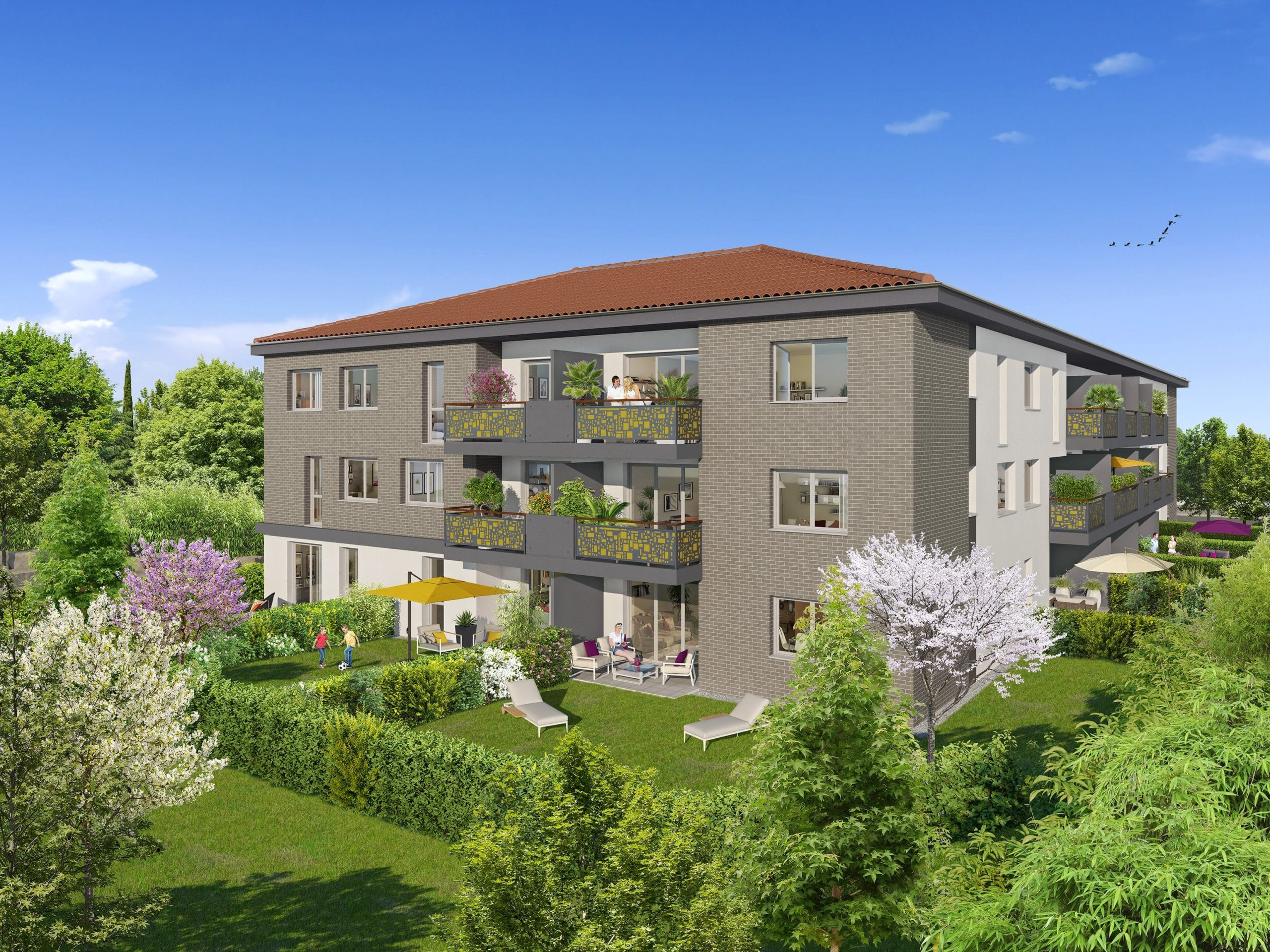 programme immobilier toulouse City Life