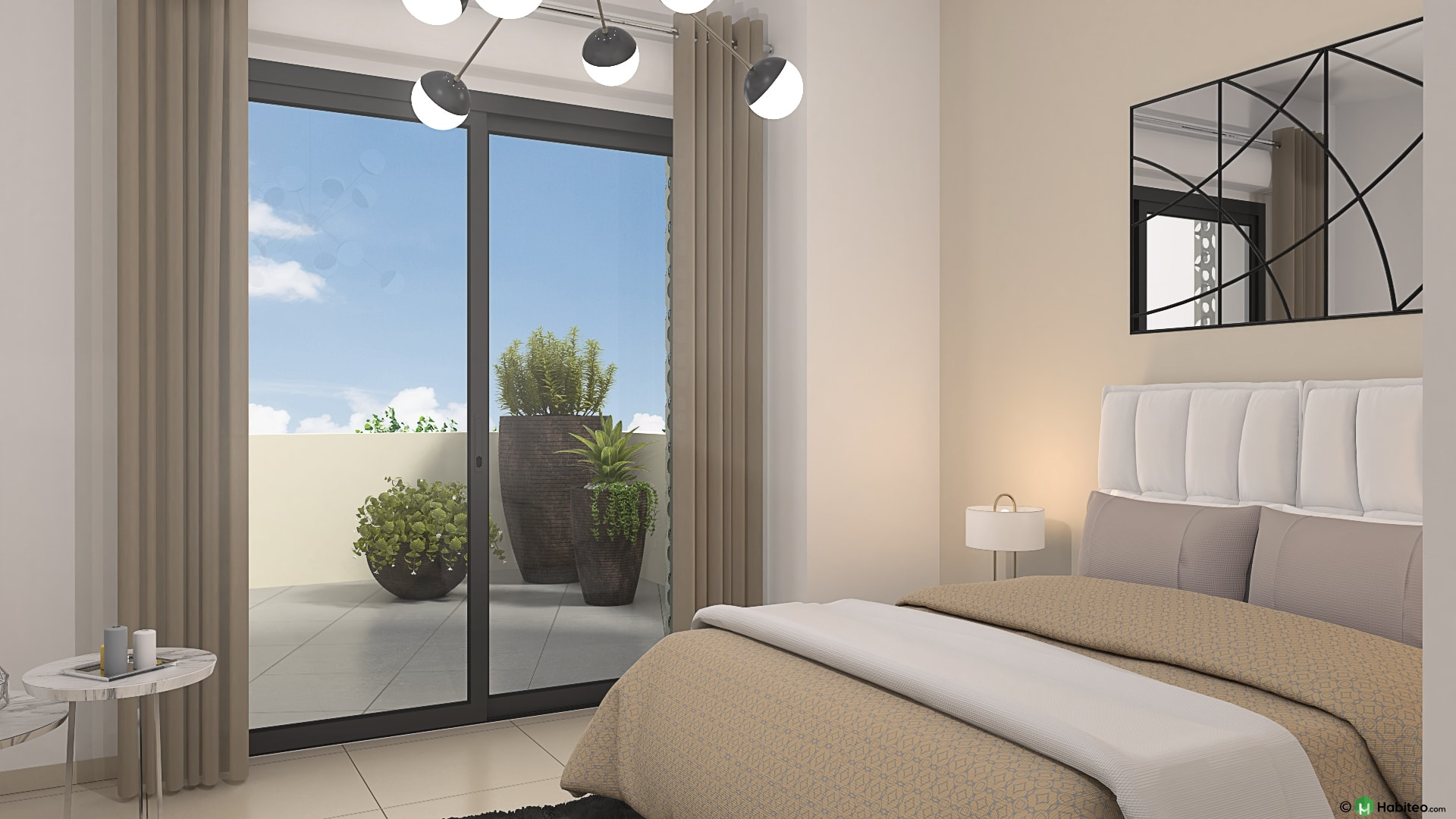 pers bonus chambre programme immobilier Organza montpellier